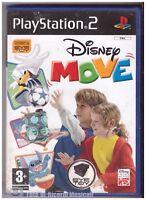 PS2 DISNEY MOVE MANUALE PRESENTE ITA PAL