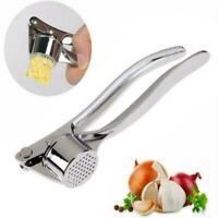 Ginger Garlic Press Crusher Mincer Chopper Stainless 4.5cm 15.5 Steel * H4Q9