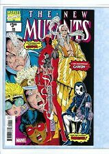 THE NEW MUTANTS #98 NM FIRST APPEARANCE of DEADPOOL & DOMINO! Marvel facsimile