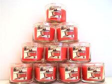 Bath Body Works Slatkin FROSTED CRANBERRY Mini Candles, glass, 1.3 oz., NEW x 10