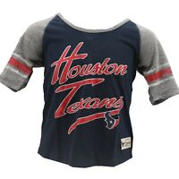 Houston Texans Official NFL Team Apparel Kids Youth Girls Size Shirt New Tags