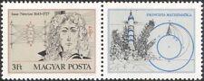 Hungary 1977 Isaac Newton/Science/Mathematics/Light/Rocket/Space 1v + lbl n40317