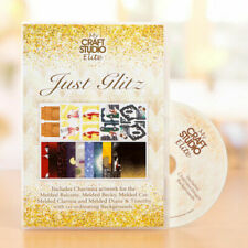 Just Glitz Art Deco CD Tattered Lace Melded Charisma MCS My Craft Studio Elite