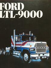 1983 FORD LTL-9000 TRUCK BROCHURE -FORD LTL9000 TRUCK