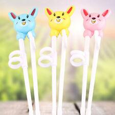 Kids Baby Chopsticks Cartoon Learning Training Education Chopsticks Ho_ juju