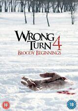 Wrong Turn 4 - Bloody Beginnings [DVD]