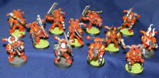Chaos Space Marines Squad x12 12x Professionally Painted Warhammer W40K Citadel