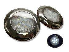 2 of Marine Boat Nature White LED Ceiling Light SS304 Housing Surface Mount 95LM