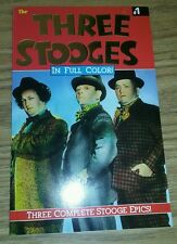 Three Stooges in Full Color! #1 (1991) * Malibu Graphics Inc. * tpb prestige