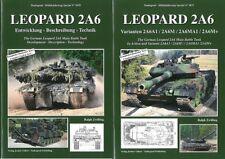 Tankograd 5070+5071: Kampfpanzer Leopard 2A6 Teil 1+2 Panzer-Modellbau/Fotos/BW