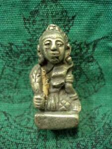 Rice Goddess Deity Statue Power Wealthy Lucky Rich Talisman Thai Buddha Amulet