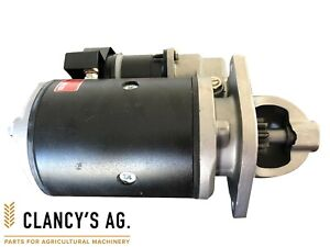 Ford Tractor Starter Motor - Suit 3000, 4000, 5000, TW, 10 Series etc. New!