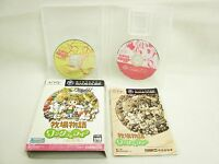 BOKUJO MONOGATARI Wonderful Life for GIRL Item ref/ccc Game Cube Nintendo gc