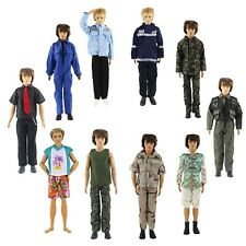 Lot of 5 PCS Fashion Casual Wear Clothes/outfit for Barbie's Boy Friend Ken Doll