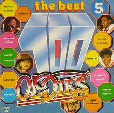 """5 x 12"""" LP - Various - The Best 100 Oldies - B485 - washed & cleaned"""