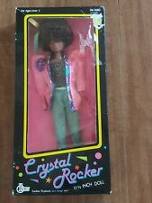 Rare Vintage Tanline Products African American Crystal ROCKER Doll 3080 NRFB