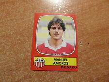 original FOOTBALL STICKERS PANINI FOOT 87 1987 Manuel AMOROS (Nr 151)