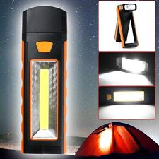 3W COB LED Flashlight Camping Lamp Inspection Working Tent Light Magnetic Torch