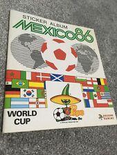 Mexico 86 World Cup Panini Football sticker album 1986 superb condition