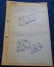 Ferrari 275 GTB circolare TECNICA #54 Blueprint 1966 No brochure Book Livre Press