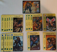 Classic DC Overpower CCG Bane Complete Player Set Hero + Specials 17 Cards