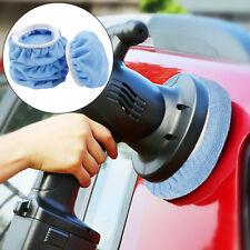 """5Pc car Waxing Polishing Bonnet Buffer Polishing Pads For Car Polisher 5-6"""" Inch"""