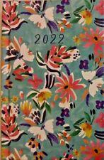 2022 Floral Day Planner Daily Organizer Calendar Password Log New 6 X 4 Free Sh