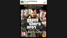 GTA 4 GRAND THEFT AUTO IV & Episodes From Liberty City jeu PC EDITION INTEGRALE