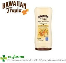 2 x Hawaiian Tropic Protective Sun Lotion Spf15 100ml