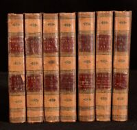 1821 7vol Novels and Tales Walter Scott WAVERLEY Guy Mannering Montrose