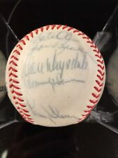 ~1965 LA Dodgers Team (Drysdale,Tommy Davis, 17+) Signed Baseball PSA/DNA LOA