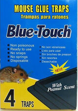 Mouse Traps Glue Boards Peanut Butter Scented Mice Insects Rodent Sticky Tray
