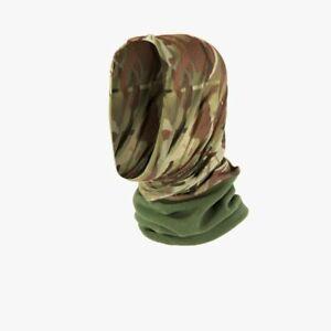Army Style Digital Camo Lightweight Moisture Wicking Neck Warmer Headover Snood