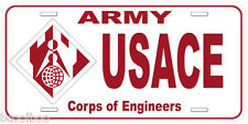 Army USACE Corps of Engineers Novelty Car License Plate