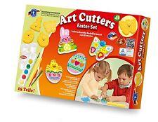 FEUCHTMANN Art-Cutters Oster-Set mit Relief Ausstechförmchen Basteln Kneten