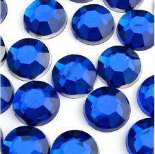 Royal Blue Diamante Rhinestones Nail Art Gems - card making/scrapbooking
