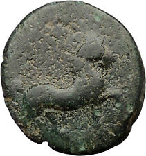 Ancient Greek City 300BC Ancient Greek Coin Horse Trident  i31847