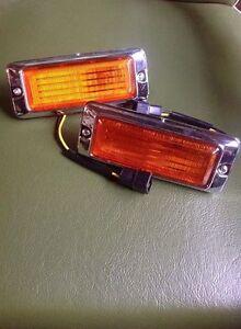 Mazda 808 RX3 RX-3 RX4 929 Side Marker Lamps Lights AMBER
