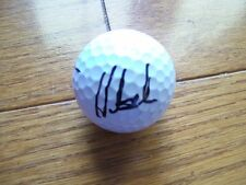 *HUNTER MAHAN*SIGNED*AUTOGRAPHED*GOLF BALL*GAME USED*TITLEIST PRO V1X *COA*