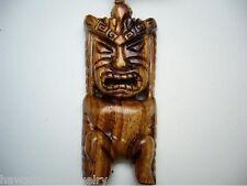 """Genuine Carved Hawaiian Koa Wood Tiki Kanaloa - god of the Sea 26"""" Adjustable"""