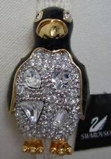 Signed Swan Swarovski Penguin Brooch Pin Sale Sale