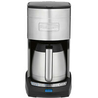 Cuisinart DCC3750 Elite 10-Cup 24 Hr Programmable Coffee Maker, Stainless Steel