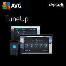AVG PC TuneUp 2020 3 PC 3 Devices 12 Months License PC 3 users Tune Up 2020 SG