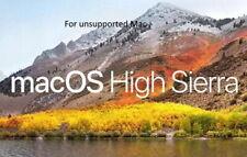 MacOs High Sierra for Mac Pro 3.1,4.1 IMac, Macbook Pro