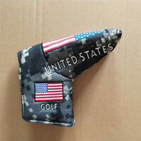 USA Military Golf Blade Putter Cover Golf Sport Club Headcover for Scotty Ping
