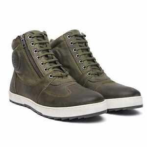 Royal Enfield Wanderer Boots Olive