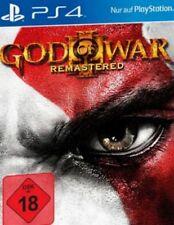 Playstation 4 GOD OF WAR 3 III Remastered Sehr guter Zustand