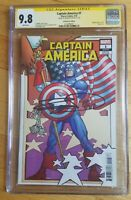 CAPTAIN AMERICA #1 Remastered Edition - CGC 9.8 SS - SIGNED FRANK MILLER!!
