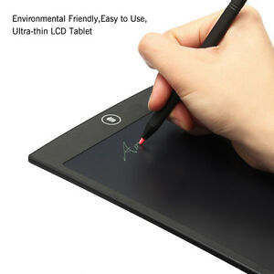 """New 12"""" LCD Paperless Writing/Drawing Board For Professionals kids Educatiion"""