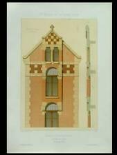 MAURECOURT, CHATEAU DE CHOISY - 1881 - GRANDE LITHOGRAPHIE - SIMONET